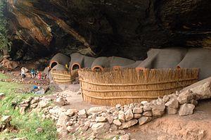 Berea District - Kome Cave Dwellings