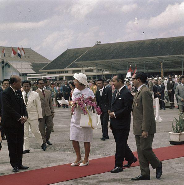 Ratu Juliana dari Belanda di Kemayoran 1970 | wikipedia