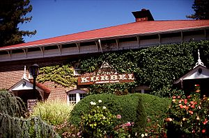 Korbel Champagne Cellars - Korbel winery in Sonoma County.