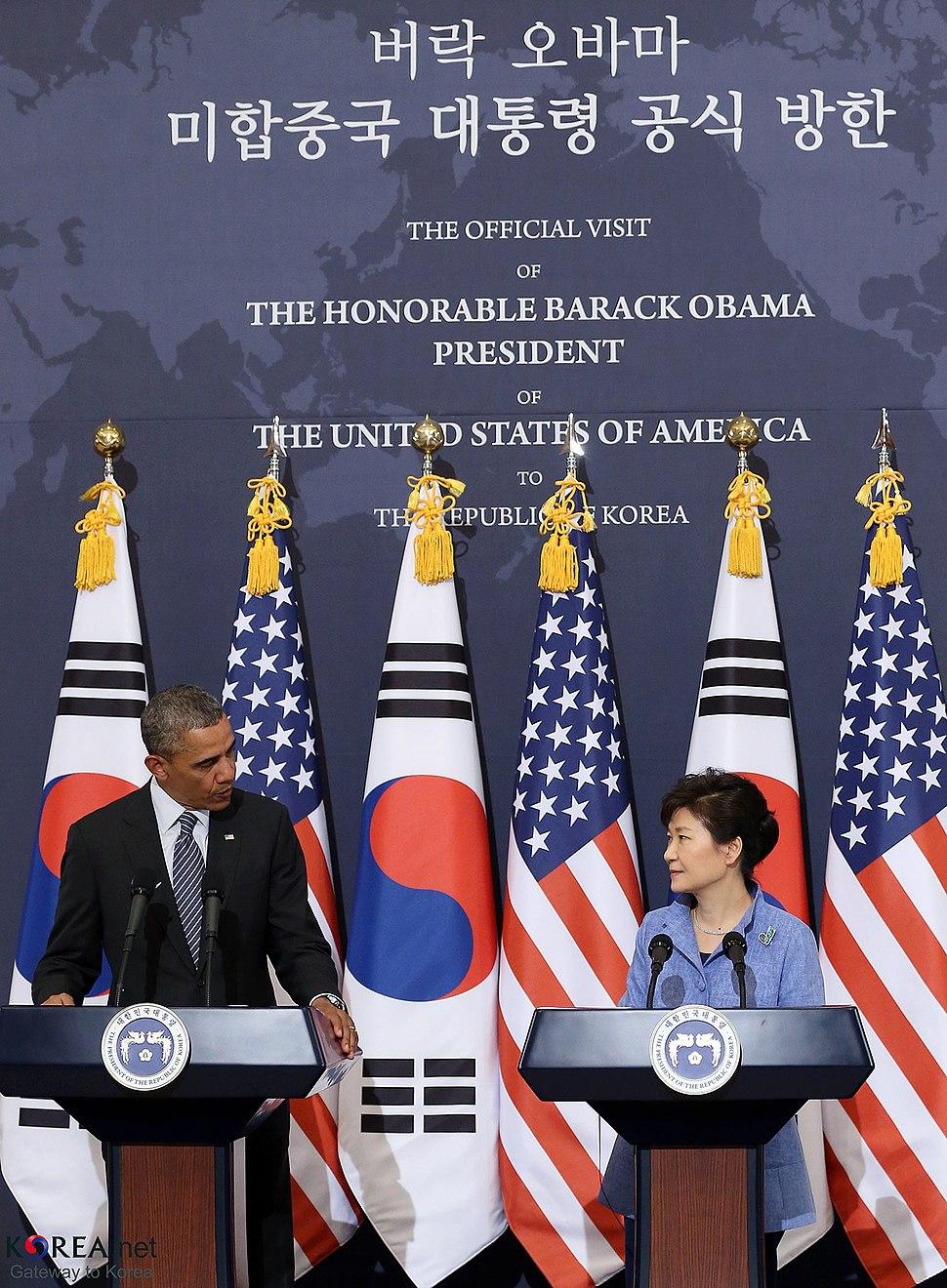 Korea US President Obama Visiting 18 (14045206364)