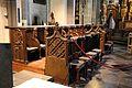 Kornelimünster, abbazia di san cornelio, interno, coro 01.jpg