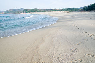 beach located in Kyotango, Japan