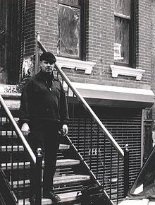 Peter Kowald in New York in 1985