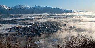 Municipalities of Slovenia - Kranj