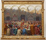 Kristian Zahrtmann - The mysterious wedding in Pistoia. - Google Art Project.jpg