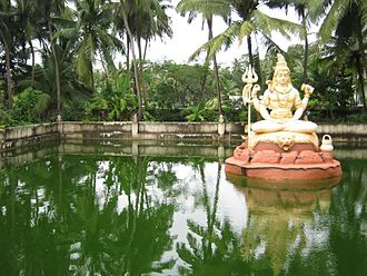 Kundapur Taluk - Lake near Sri Kundeshwara Temple