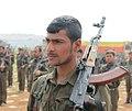 Kurdish YPG Fighter (14624529154).jpg