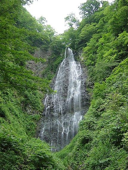 くろくまの滝(青森県鰺ヶ沢町)