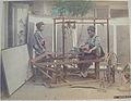 Kusakabe Kimbei 164 Weaving Silk.JPG