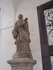 Statue of John of Nepomuk (Kutná Hora, Husova)