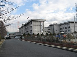 Kyoto Prefectual Nishi-joyo high school in Japan.JPG