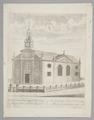Kyrkan Ulrika Eleonora i London, 1728 - Skoklosters slott - 99734.tif