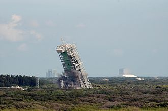 Spaceport Florida Launch Complex 36 - Image: LC 36A Demolition