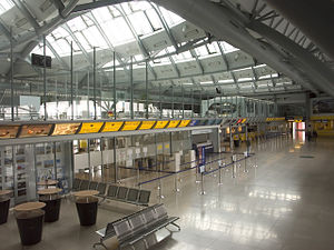 Brno–Tuřany Airport - Terminal interior