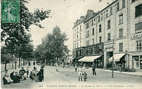 Avenue Du Pr Ef Bf Bdsident Wilson  La Plaine Saint Denis Restaurant Africain