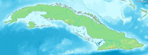 Cayo Sabinal is located in Cuba