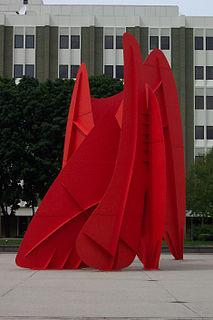 <i>La Grande Vitesse</i> sculpture by Alexander Calder