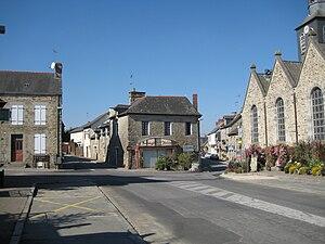 La Bouëxière - The main road