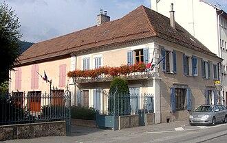 La Fare-en-Champsaur - Town hall and post office
