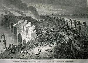 Second Opium War - Image: La bataille de Palikiao