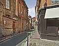 La rue Bouquières a Toulouse vue de la place Mage.jpg