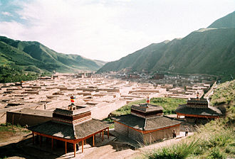 Labrang Monastery - Overview of the Labrang Monastery