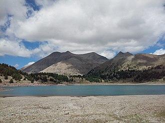Lac d'Allos - Image: Lac d'Allos 3