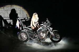 Haus of Gaga - Motorcycle piano