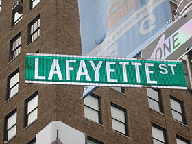 Image illustrative de l'article Lafayette Street