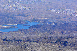 Lake Mohave - Image: Lake Mohave from Spirit Mountain 3