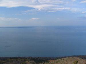 Abashiri Quasi-National Park - Overlooking Lake Saroma (June 2007)