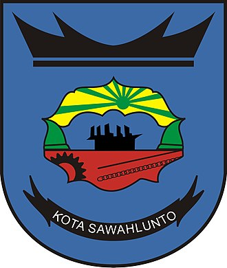 Sawahlunto - Image: Lambang Kota Sawahlunto