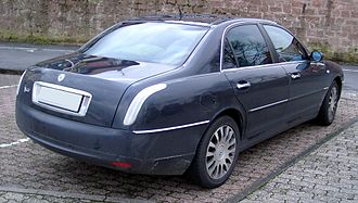 Lancia Thesis - Rear view of Thesis.