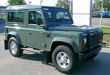 land rover defender wikip dia. Black Bedroom Furniture Sets. Home Design Ideas