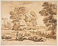 Landscape with Shepherd and Shepherdess MET DP817312.jpg