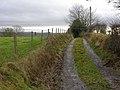 Lane to Swydd farm - geograph.org.uk - 654311.jpg
