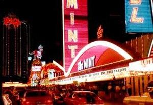 Zick & Sharp - The Mint, Las Vegas, 1957.