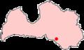 Latvia city Aknīste.png