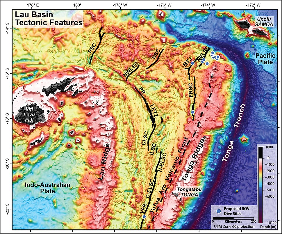 Lau Basin-NOAA-Tectonic features hires