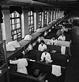 Laundry in Wartime- the work of Gleniffer Laundry, Catford, London, England, UK, 1944 D23272.jpg
