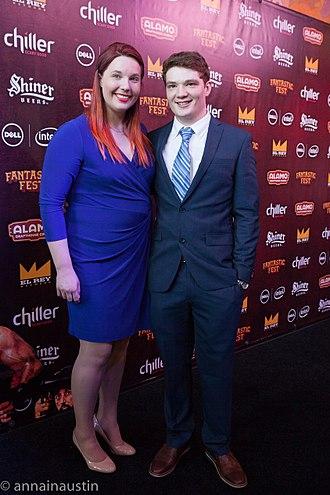 Lindsay Jones (actress) - Lindsay and her husband Michael Jones