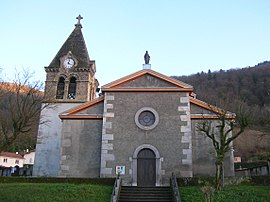 The church of Le Versoud