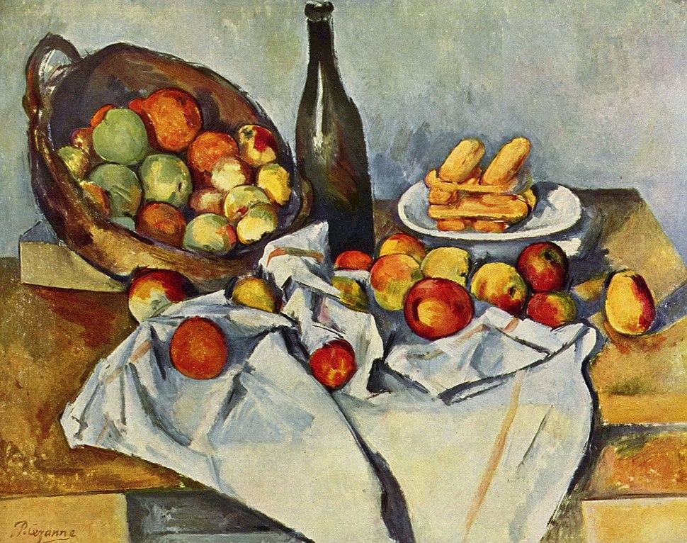 Le panier de pommes, par Paul Cézanne