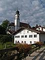 Lechbruck - Mühlweg Nr 7, Kirche v NO.JPG