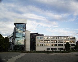 Max Planck Institute for Evolutionary Anthropology - The main building of MPI EVA in Leipzig, Germany