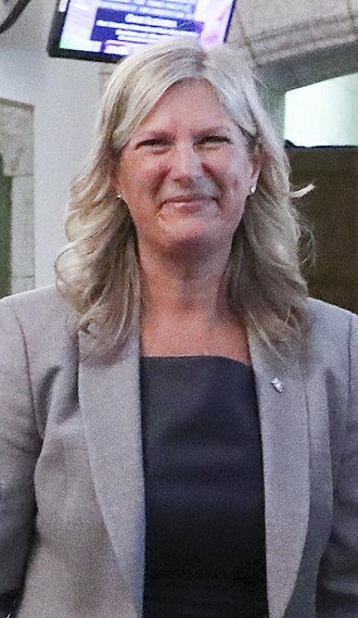 Official Opposition Shadow Cabinet of the 42nd Parliament of Canada - Image: Leona Alleslev 2018 (30891572698) (cropped)