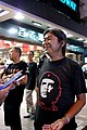 Leung Kwok-hung with Che Guevara T-shirt 20120813.jpg