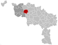 Leuze-en-Hainaut Hainaut Belgium Map.png