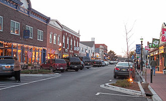 Lewes, Delaware - Second Street in downtown Lewes in 2006