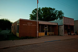 Library in Aneta, North Dakota 5-31-2009.jpg